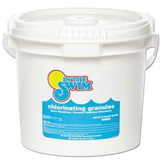 In The Swim Granular Pool Chlorine 25 lbs. > Powerful 56% available stabilized chlorine 99% Sodium Dichloro-S-Triazinetrione Fast dissolving and pH balanced to reduce fluctuation Check more at http://farmgardensuperstore.com/product/in-the-swim-granular-pool-chlorine-25-lbs/