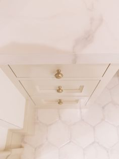 Choose Wisely! My Tips for Choosing Cabinetry Hardware | BlueGrayGal Kitchen Cabinets Light Wood, Beige Cabinets, Beige Bathroom, Master Bathroom, Balanced Beige, Accessible Beige, Plumbing Fixtures, Painting Cabinets, Knobs And Pulls