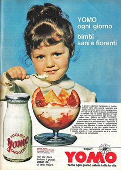 Yomo 1964 by Lollodj Vintage Italian Posters, Vintage Advertising Posters, Old Advertisements, Advertising Slogans, Poster Vintage, Vintage Labels, Vintage Signs, Vintage Ads, Grey Wallpaper Iphone