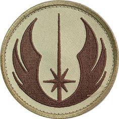 Patch Squad Men's Star Wars Jedi Order ERA Tactical Morale Patch (Tan)