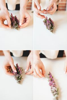 3 DIY smudge sticks to cleanse your space for spring! full project and directions on jojotastic.com