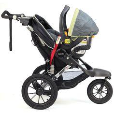 Amazon.com : Kolcraft Sprint X Jogging Stroller, Black : Baby