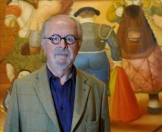 "Fernando Botero Angulo (b. April 19, 1932) is a figurative artist & sculptor from Medellín, Colombia. His signature style, also known as ""Boterismo"", depicts people & figures in large, exaggerated volume, which can represent political criticism or humor, depending on the piece. He is considered the most recognized & quoted living artist from Latin America, & his art can be found in highly visible places around the world, such as Park Avenue in NYC & the Champs Elysées in Paris. 