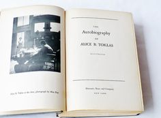 The Autobiography of Alice B. Toklas Gertrude by booksvintage