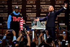 Watch the First Mayweather vs McGregor Press Conference Now
