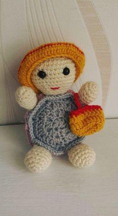 Patrons amigurumi - Made by Amy Crochet Amigurumi Free Patterns, Crochet For Beginners, Amigurumi Doll, Easy Crochet, Hello Kitty, Miniatures, Teddy Bear, Dolls, Diy