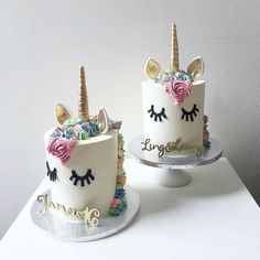 Whimsical #brides, are you Team Unicorn or Team Uni-can't?  #cakes @kekandco