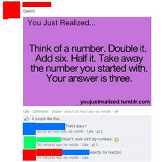 The only thing tougher than basic math is basic logic. | 30 People Who Should Have Thought Before They Posted: