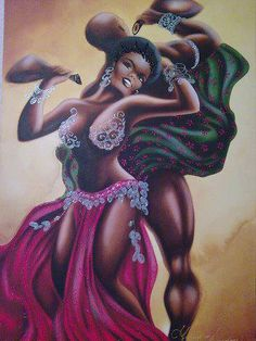 divinemoon:  One day the great orisha Chango was playing the...