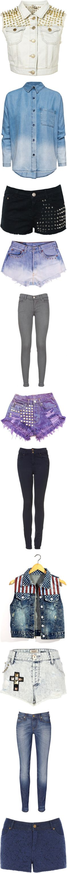 """""""I love denim"""" by beautyismything ❤ liked on Polyvore"""