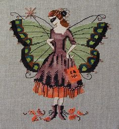 Mirabella Pixie Collection, Halloween Fairy, part 3