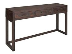 Vintage console table nice sturdy range in dark brown effect. Click on to http://solidwoodfurniture.co/product-details-pine-furnitures-4934-vintage-console-table-.html