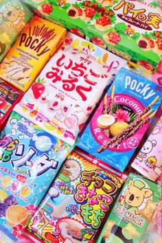 Find images and videos about kpop, food and kawaii on We Heart It - the app to get lost in what you love. Japanese Treats, Japanese Candy, Japanese Food, Japanese Drinks, Cute Snacks, Cute Food, Snacks Japonais, Asian Snacks, Japanese Aesthetic