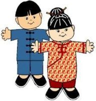 MakingFriends Chinese Paper Doll Friends Dress up your paper doll friends in outfits representing China for Thinking Day or for fun. Fun Crafts For Kids, Preschool Crafts, Boy Scout Crafts, Multicultural Crafts, Daisy Girl Scouts, Boy Scouts, World Thinking Day, Chinese Paper, Paper Dolls Printable