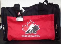 Hockey Team Canada Sports Gym Travel Bag New with Tags FREE SHIPPING #HockeyCanada #SportsGymTravelBag