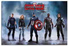 Captain America Civil War Team Poster