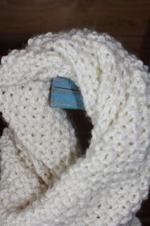 Musings From the North: Seed stitches and neck warmers