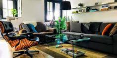 El piso de Álvaro en el centro de Madrid Home Decor, Furniture, Decor, Couch