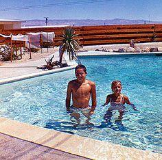 Jimmy And Debbie Scott Palm Springs Ca 1963 Steverealtor Tags California Vacation Cute Kids Youth Vintage Palmsprings S Retro Swimmingpool