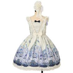 ♡ Angelic pretty ♡ astle Mirage jumper skirt + clip + tights http://www.wunderwelt.jp/products/detail12551.html ☆ ·.. · ° ☆ How to order ☆ ·.. · ° ☆ http://www.wunderwelt.jp/user_data/shoppingguide-eng ☆ ·.. · ☆ Japanese Vintage Lolita clothing shop Wunderwelt ☆ ·.. · ☆