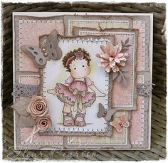 Beautiful card made by my DT member Fleur