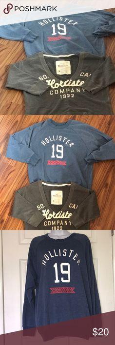 e448ca4614c089 Hollister sweatshirt bundle Women s juniors ladies hollister California  sweatshirt bundle of 2 sweatshirts. Both are