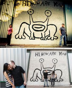 Hi, How are You - musician daniel johnston's mural at the corner of 20th st. and guadalupe