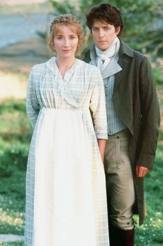 Emma Thompson and Hugh Grant for Sense and Sensibility, 1995
