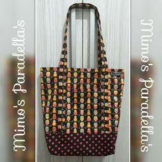 Bolsa de Tecido Estampa Coruijinha com Póa!!! Possui bolso externo e interno, alças reforçadas!!!!