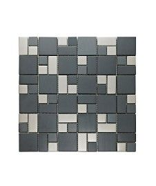 Information about Satin Modular Mosaic Tile Front Wall Tiles, Kitchen Wall Tiles, Wall And Floor Tiles, Outdoor Flooring, Outdoor Walls, Tile Care, Topps Tiles, Limestone Tile, Tile Stores