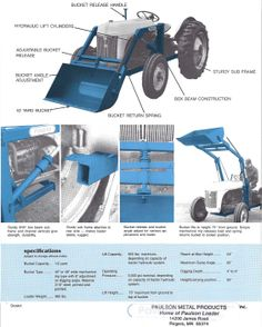 Paulson Lightweight Loader for N Tractors
