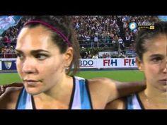 Himno argentino - Las Leonas - Final mundial hockey sobre césped femenino 2010