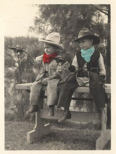 Vintage cowboys      via Flickr
