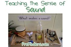 Teaching sound activities