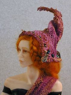 Red Head Pixie Witch