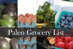 Paleo Grocery Shopping List - A guide to...   alouao.com