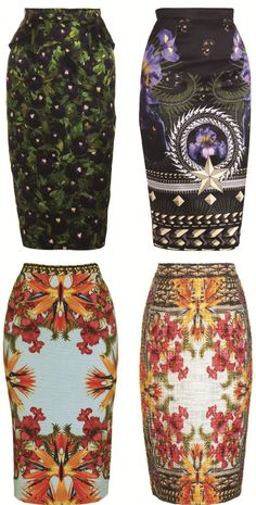 Givenchy Pencil Skirts a/w 2011 ♥✤   Keep the Glamour   BeStayBeautiful