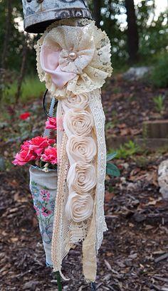 Large Pale Pink Romantic Brooch от CarolinesOriginals на Etsy