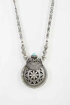 Sculpted Bottle Pendant Necklace by: Urban Outfitters @Urban Outfitters (US)