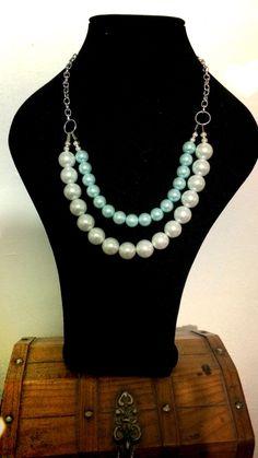 Perlas blanca y menta