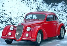 Alfa Romeo 2300 is a European style antique car from the 30s. @Deidré Wallace