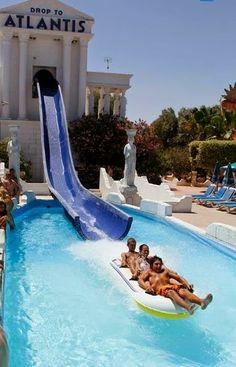 WaterWorld Waterpark - Ayia Napa, Cyprus -