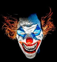 Scary! Evil Clowns, Scary Clowns, Clown Horror, Hp Lovecraft, Happy People, Joker, Fictional Characters, Books, Art