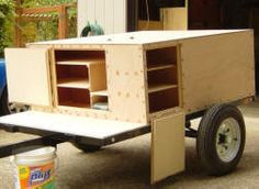 Compact Camping Trailers build at home Explorer Box Build Plans overview