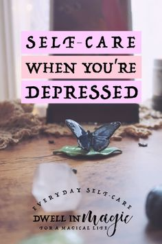 Self-care is a unique challenge when you're depressed. I'm going to share my personal tips for self-care when you're in the throes of depression. Causes Of Depression, Depression Recovery, Fighting Depression, Overcoming Depression, Dealing With Depression, Dealing With Stress, Depression Treatment, Depression Remedies, Wellness