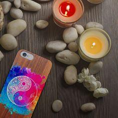 Un case que se adapta a ti.  Funda de madera para iPhone