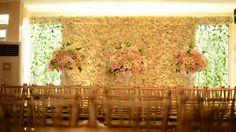 Dekorasi lamaran flower wall - www.thebridedept.com