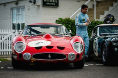 Lukas Huni and Carlo Vogele - 1963 Ferrari 330 GTO at the 2016 Goodwood Revival (Photo 4)