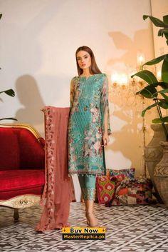 RAMSHA Pakistani Party Wear, Pakistani Dresses Casual, Eid Dresses, Fashion Dresses, Pakistani Clothing, Couture Dresses, Latest Dress Design, Latest Pakistani Fashion, Lawn Suits