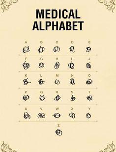 Médical Alphabet ! #LOL